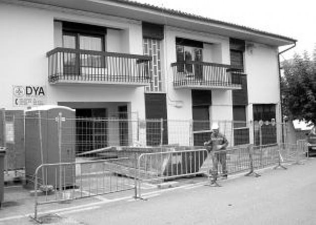 Aoiz reforma la sede de la DYA y de los servicios sociales