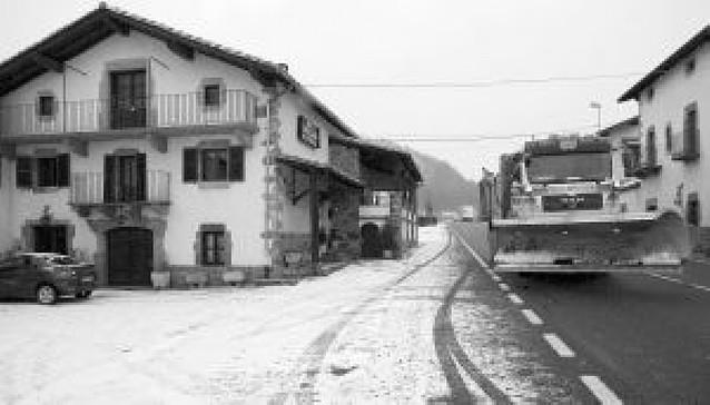 Alerta por nevadas en la Ribera y el centro
