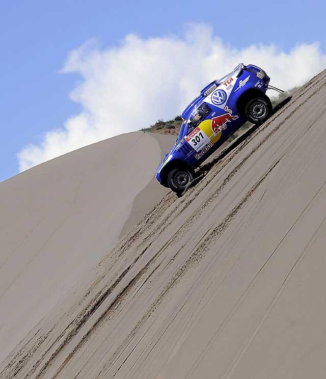 Jornada positiva para los pilotos españoles en el Dakar