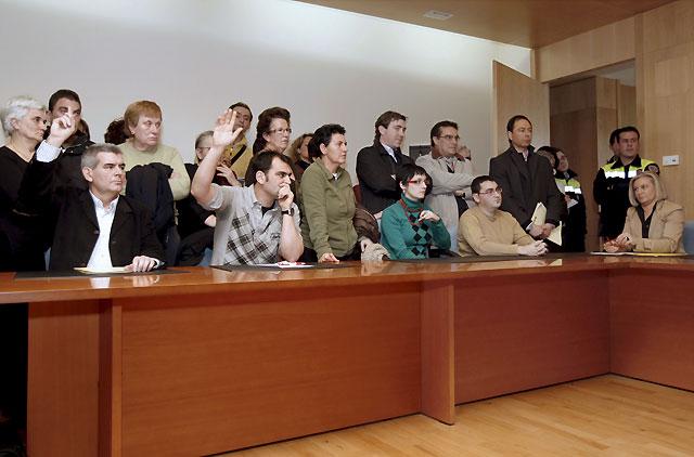 El PSN pierde la alcaldía en Ribaforada tras salir adelante la moción de censura