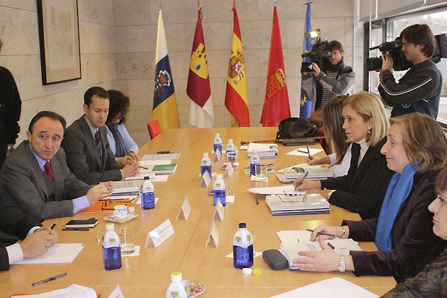 Navarra, Canarias y Castilla La Mancha preparan la postura común ante el Consejo de Ministros de Sanidad de la UE