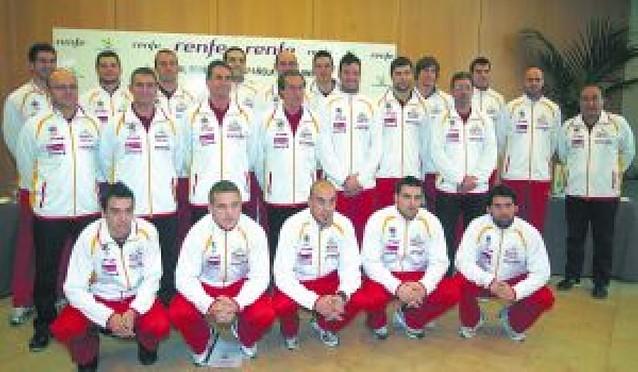 La selección española parte hacia Croacia