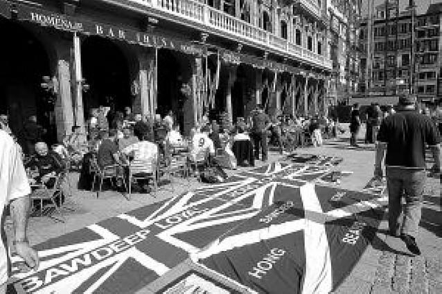Un año de prisión para un hincha del Glasgow por incidentes en Pamplona