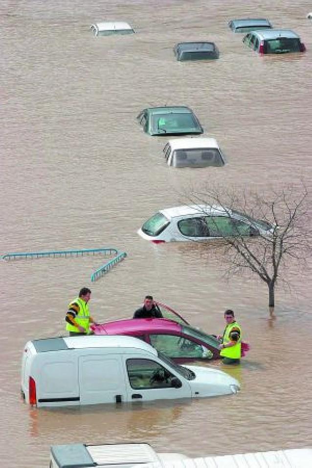 Obras para evitar más inundaciones en Burlada