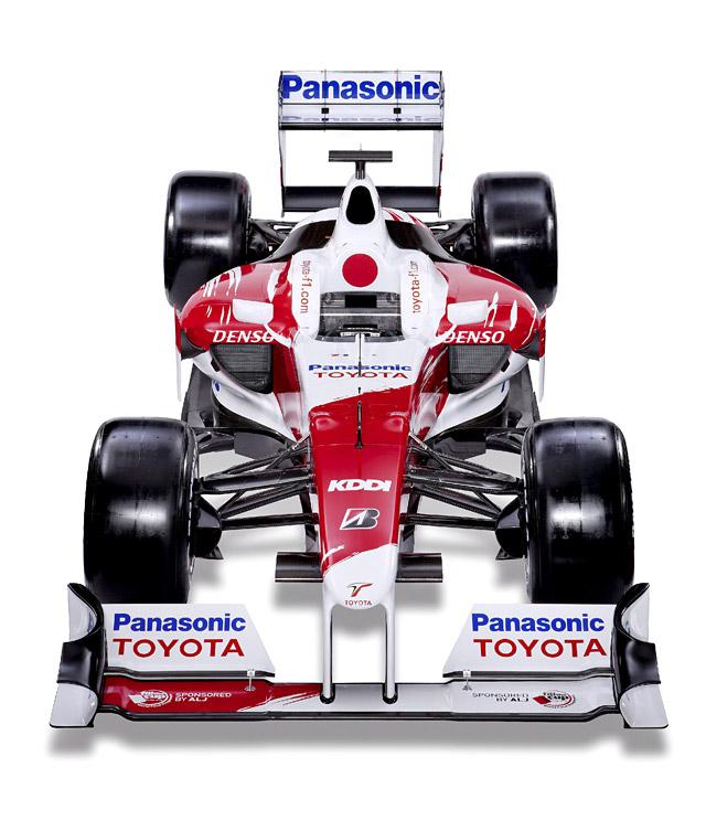 Toyota presenta el monoplaza de Fórmula 1 TF109