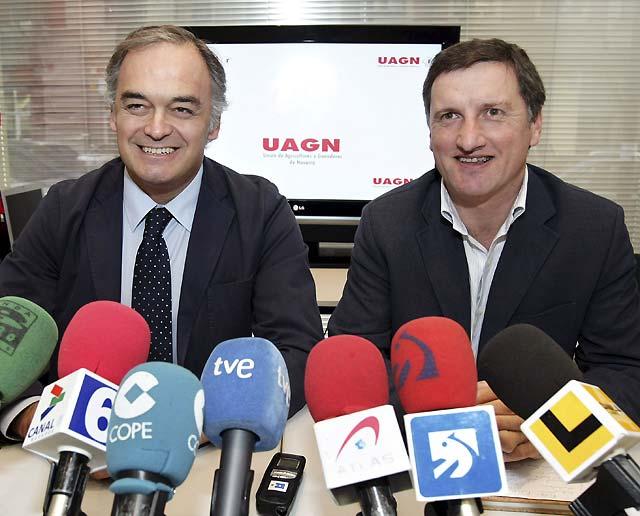 La UAGN plantea al PP los problemas presentes y futuros del sector agrario