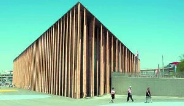 El Pabellón de Mangado en la Expo, entre los mejores de 2008
