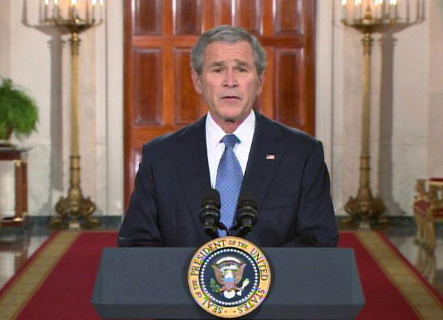 Bush dice que nunca ha podido recuperarse del 11-S en su mensaje de despedida