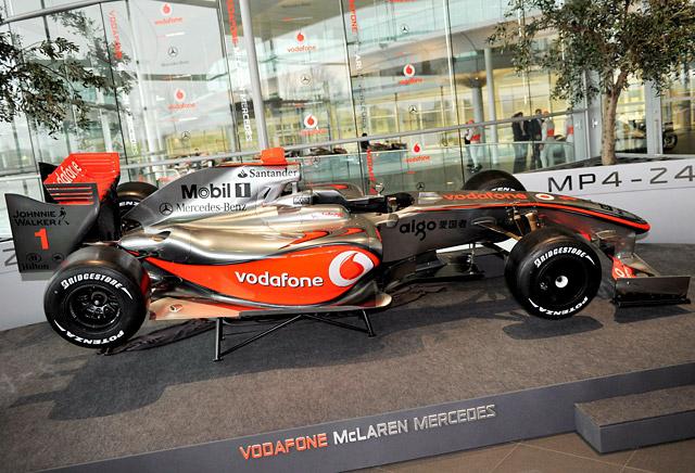 McLaren presenta el nuevo monoplaza de Hamilton y Kovalainen