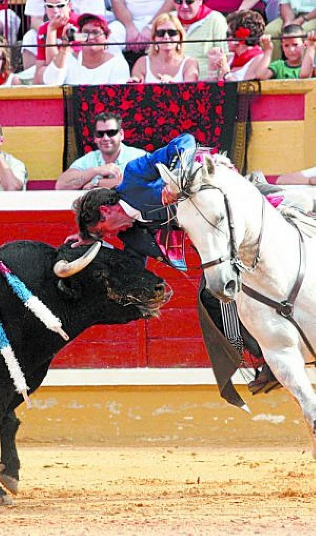 """""""Pirata"""", de Pablo Hermoso, el mejor caballo de rejones en el último tercio"""
