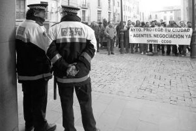 Los sindicatos de la policía municipal denuncian represalias del ayuntamiento