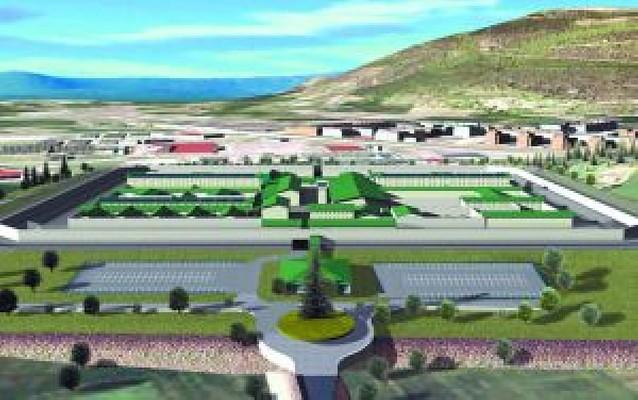 La cárcel de Pamplona en Santa Lucía dará trabajo a 250 funcionarios