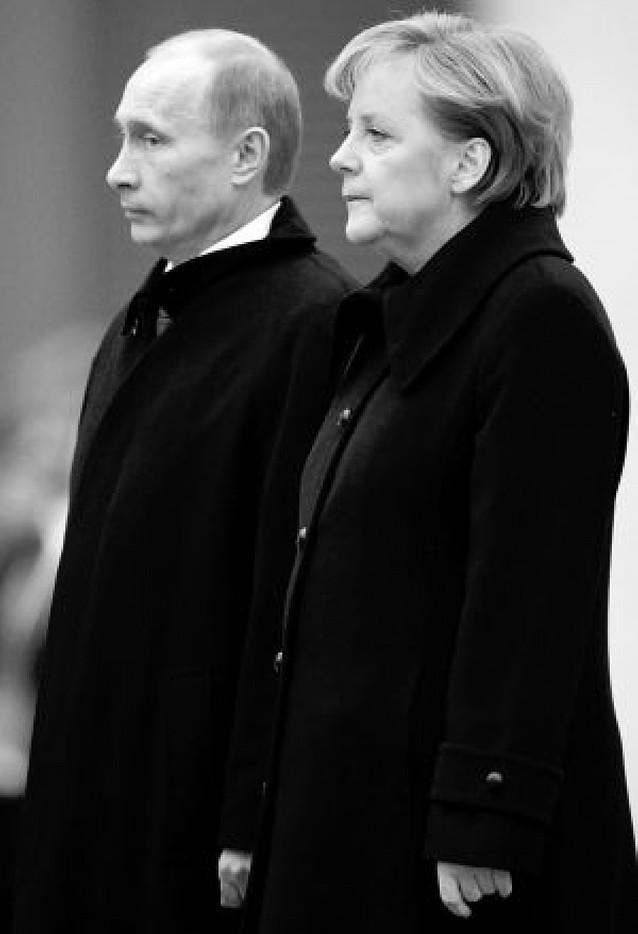 Merkel y Putin buscan una salida a la crisis del gas