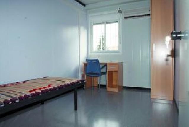 El dormitorio de los médicos de guardia