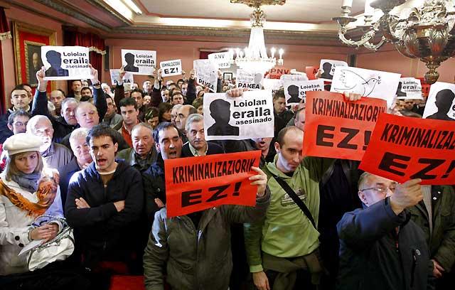 El PNV desaloja a ANV de la alcaldía de Azpeitia con el apoyo de un edil de EA