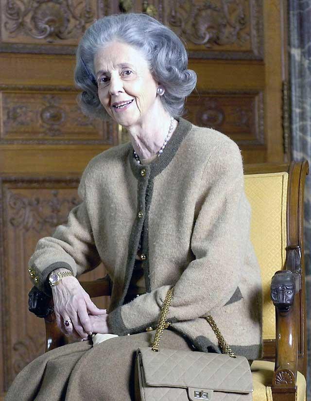 La reina Fabiola de Bélgica, hospitalizada por una bronconeumonía