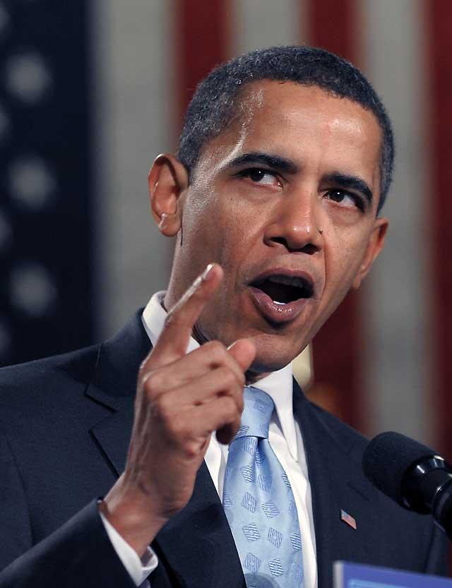 Obama realiza el histórico recorrido a Washington con un llamamiento a una nueva revolución