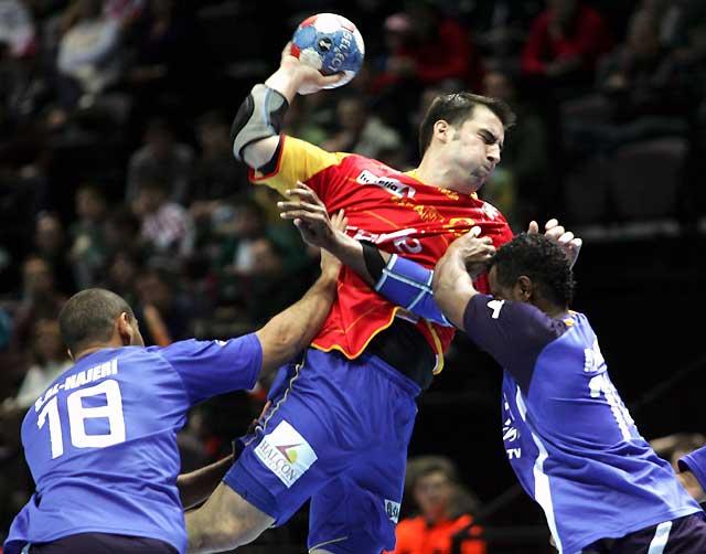 España se estrena en el Mundial de Croacia con un cómodo triunfo frente a Kuwait (47-17)
