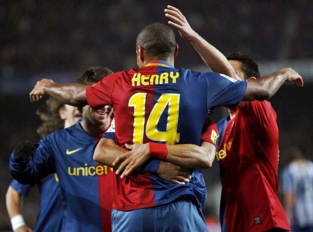 Un Barça sublime golea al Depor