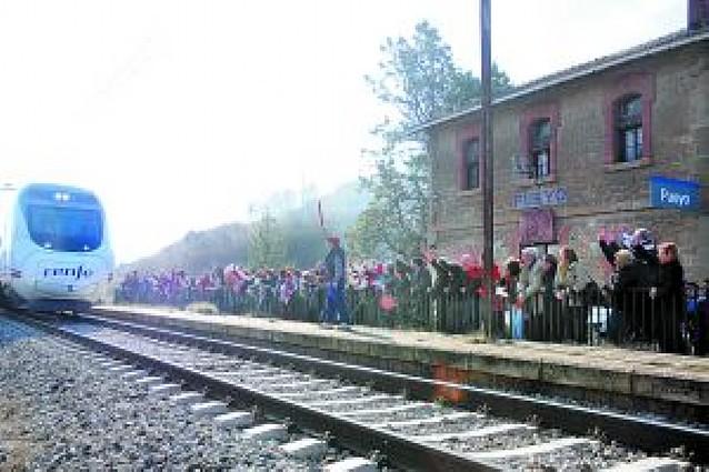 Cien años de tren en Pueyo