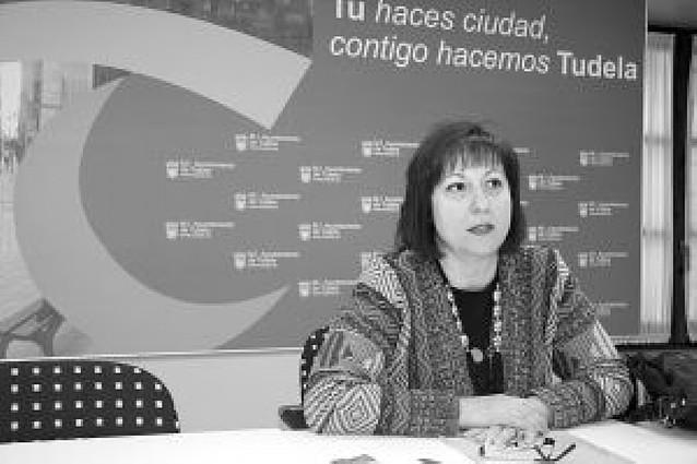 """Caridad Cerdán dice que presenta su dimisión como edil del PSN en Tudela por """"coherencia"""""""