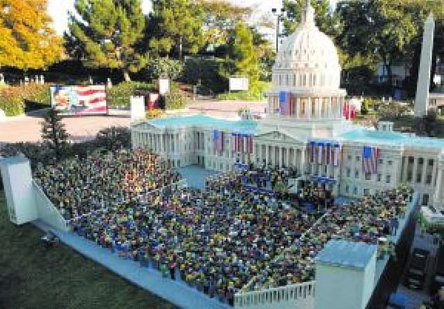 Más de 40.000 personas integran el equipo de seguridad en Washington