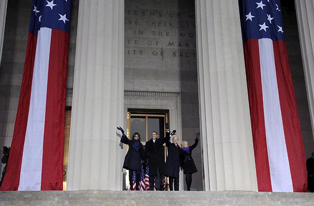 Obama culmina su histórico recorrido en Washington