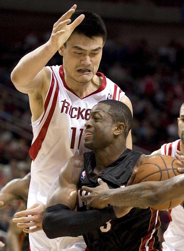 Yao Ming roza la perfección