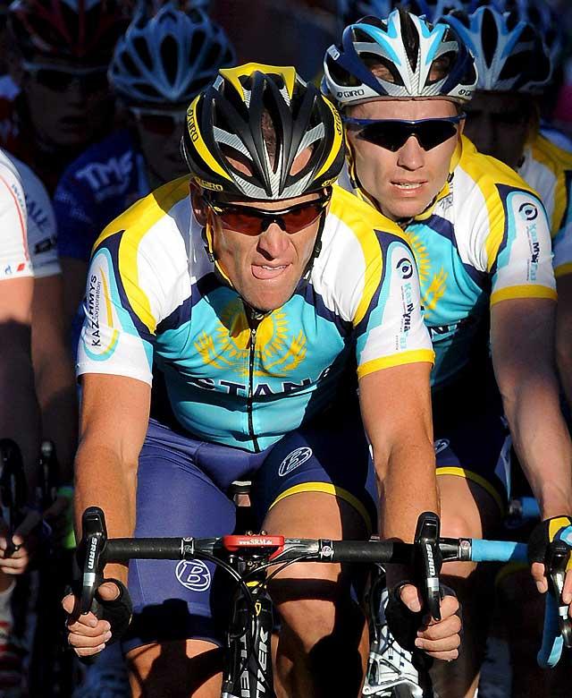 El Astana realiza un control antidopaje cada tres días a Lance Armstrong