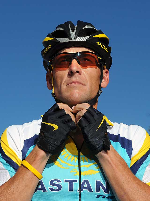 Armstrong vuelve al ciclismo profesional en Australia