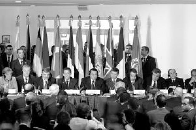 Llamamiento internacional desde Egipto para lograr una paz duradera en Gaza