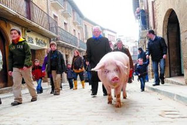 """El cerdo de las """"suertes"""""""