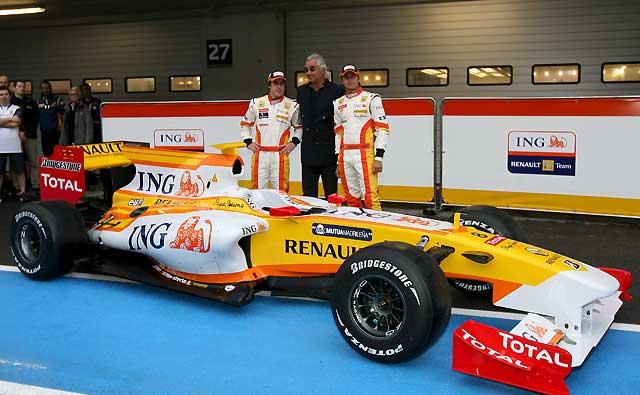 Renault presenta las armas de Alonso para luchar por su tercer título
