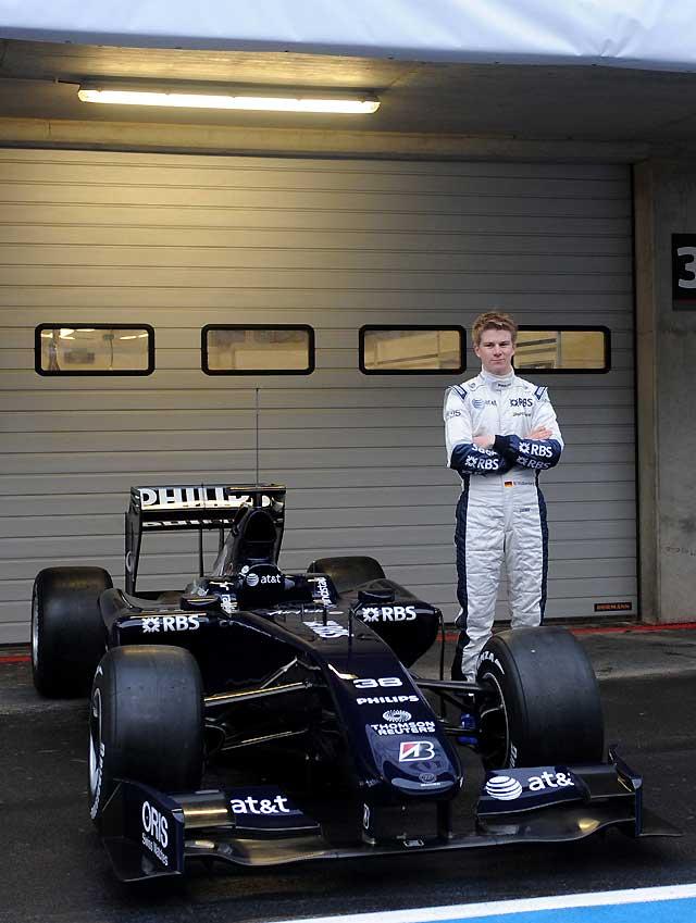 """Williams da a conocer su nuevo """"FW31"""""""