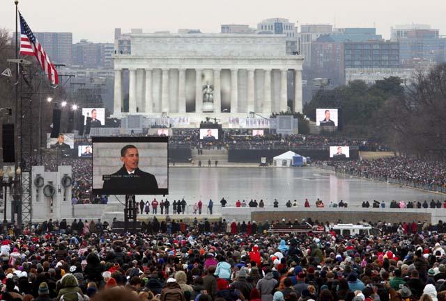 Emotivo concierto para preparar la investidura de Barack Obama