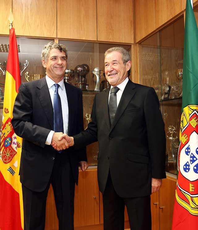 España y Portugal presentarán una candidatura conjunta al Mundial de 2018