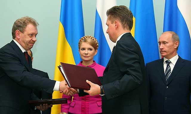 Gazprom y Naftogaz firman el contrato que desbloquea el suministro de gas a Europa