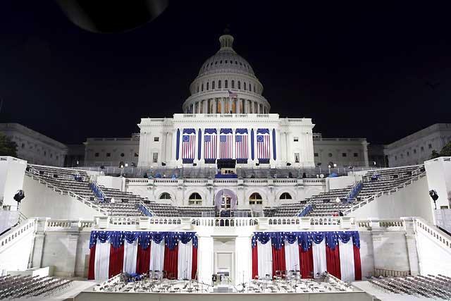 Comienza la ceremonia de investidura presidencial de Barack Obama