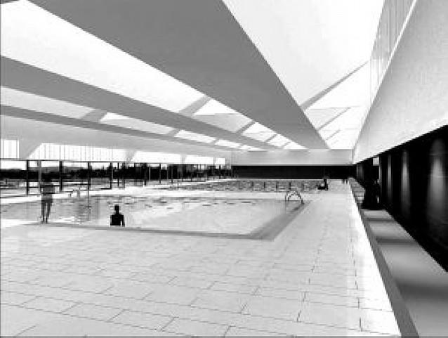 La piscina cubierta de San Jorge se empezará a construir esta primavera