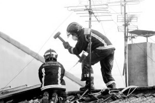 Fallece una vecina de Etxarri-Aranatz de 91 años en el incendio de su casa