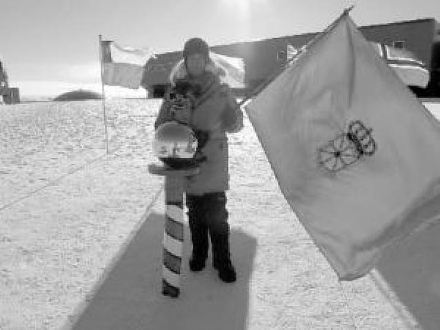 En el Polo Sur, a la espera del regreso