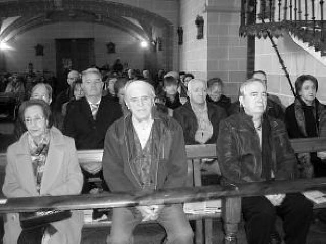 Dicastillo celebra el centenario del padre Jenaro