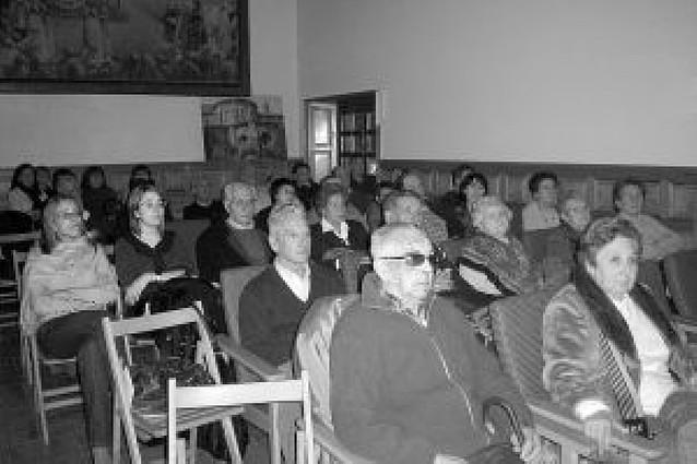 Una conferencia sobre la historia local reúne a 50 personas
