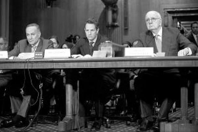 Geithner promete reformar el plan de rescate financiero de 700.000 millones