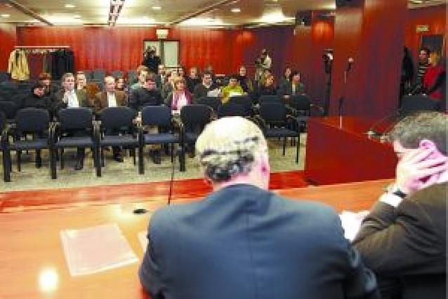Los jueces navarros rechazan la huelga de febrero por sólo un voto de diferencia