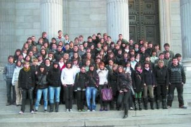 Viaje de alumnos riberos a Madrid