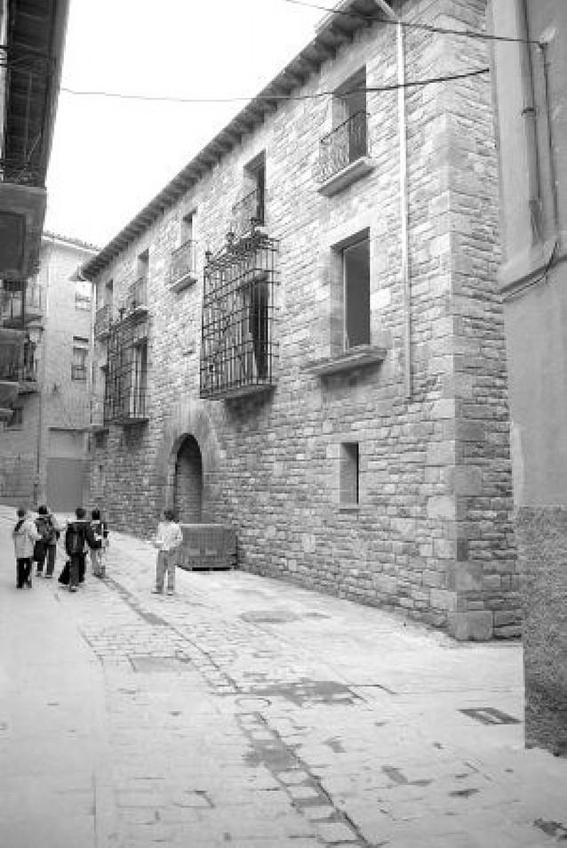 El trabajo en la Casa de las Rejas de Tafalla, premio Torre Ochagabia