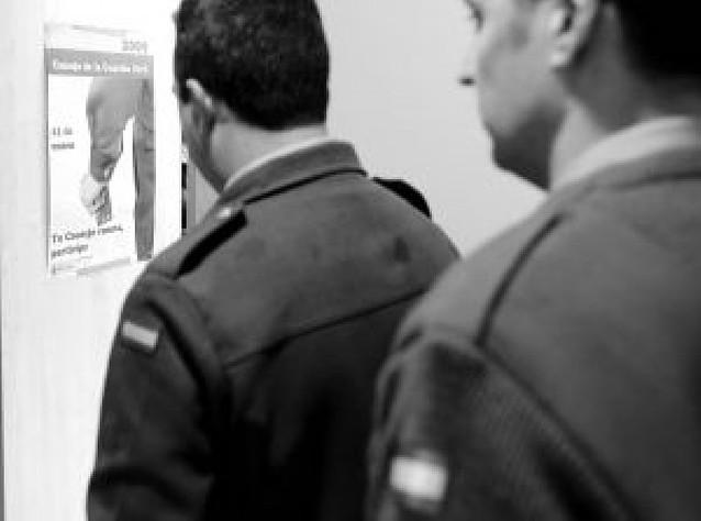 La Guardia Civil vota