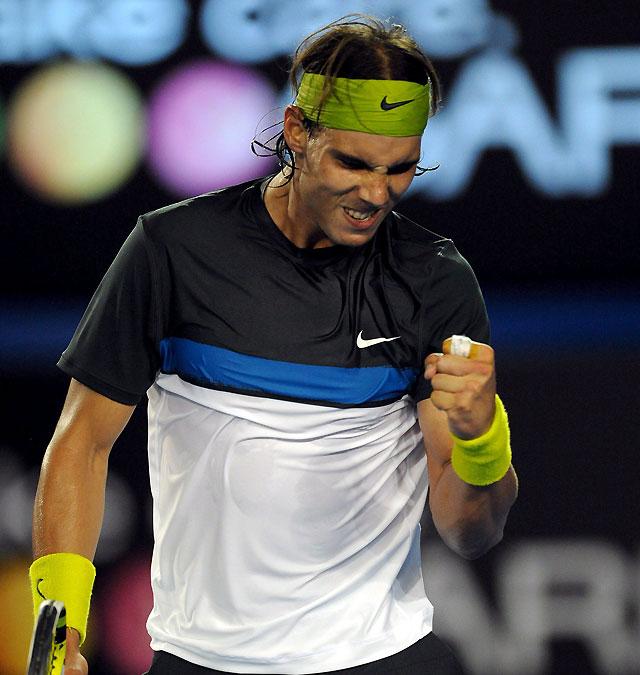 La semifinal entre Nadal y Verdasco asegura un español en la final del Open de Australia