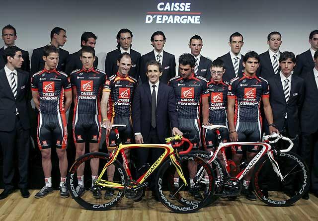 Valverde apunta al Tour con un equipo poco renovado